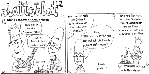 Plattsalat-Quadrat - Comic der Woche